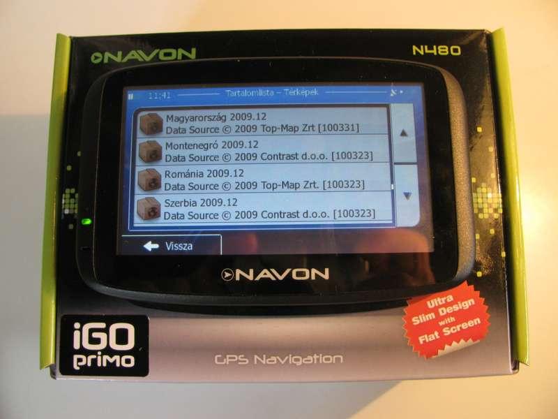 navteq magyarország térkép Navon N480 TopMap térkép, és Magyar TTS hang nélkül | Navigálj  navteq magyarország térkép