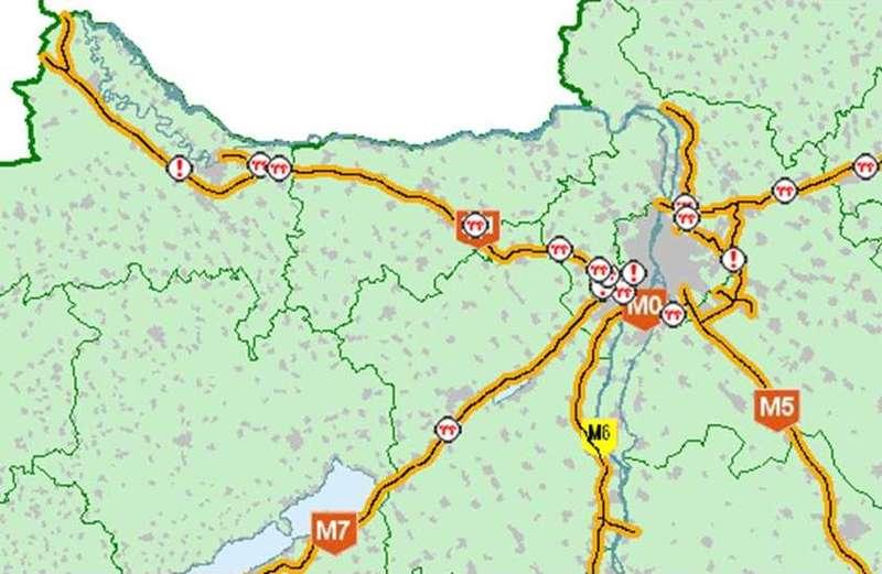 budapest autópálya térkép Hol jelentheted be, a közérdekű közuti információkat | Navigálj  budapest autópálya térkép