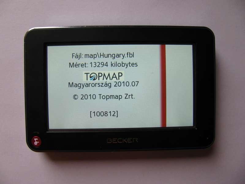 navteq magyarország térkép Becker TopMap térképfrissítés. 2010 Q3 második rész | Navigálj  navteq magyarország térkép