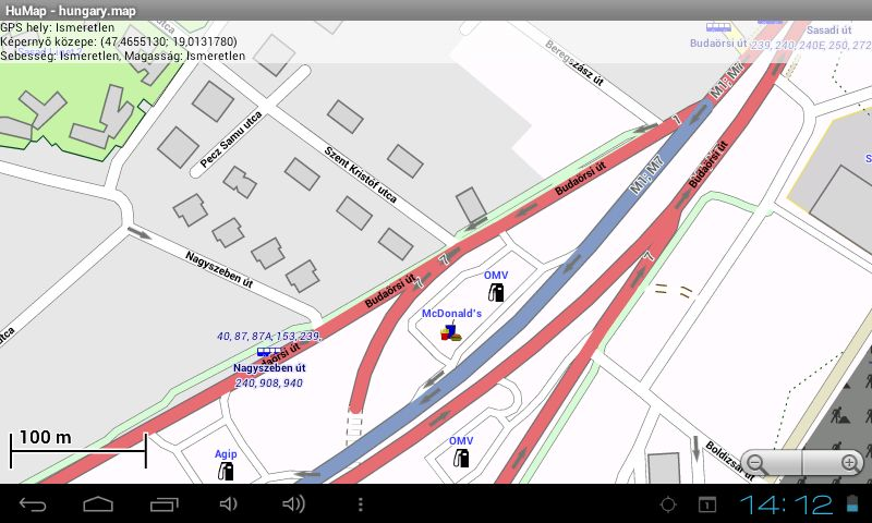 offline térkép androidra Egy újabb offline térkép Androidra   HuMap | Navigálj Gyurcival! offline térkép androidra