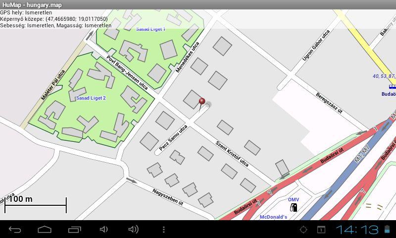 offline budapest térkép Egy újabb offline térkép Androidra   HuMap | Navigálj Gyurcival! offline budapest térkép