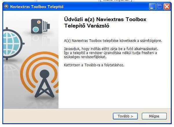 Az Igo8 Telepitese A Naviextras Toolbox Frissitese Utan Vedd A