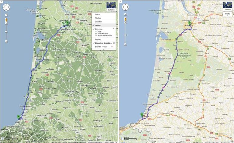 Google Maps A Bringas Utvonaltervezes Europa Ujabb Reszein Erheto